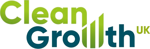 Clean Growth UK logo.